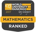 Uvrstitev UM med najboljše univerze po QS World University Rankings by subject 2017